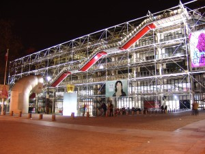 Centre Georges Pompidou à Paris