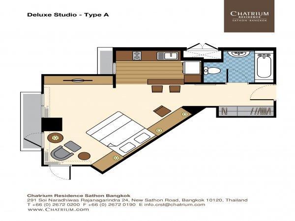 Chatrium Residence Bangkok Sathon