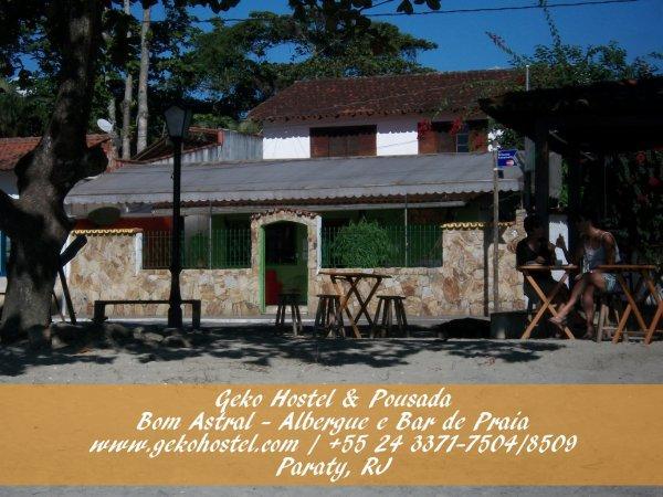 Auberge Geko  and Pousada Paraty