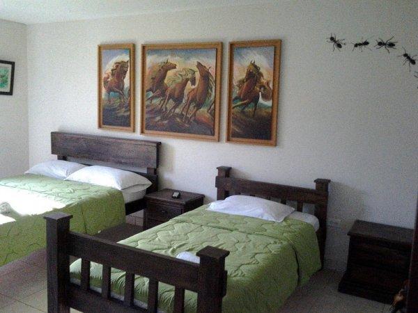 Auberge  Santander Aleman Terrace Vista