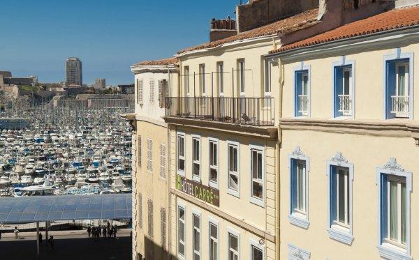 Hôtel Carré Vieux Port Marseille