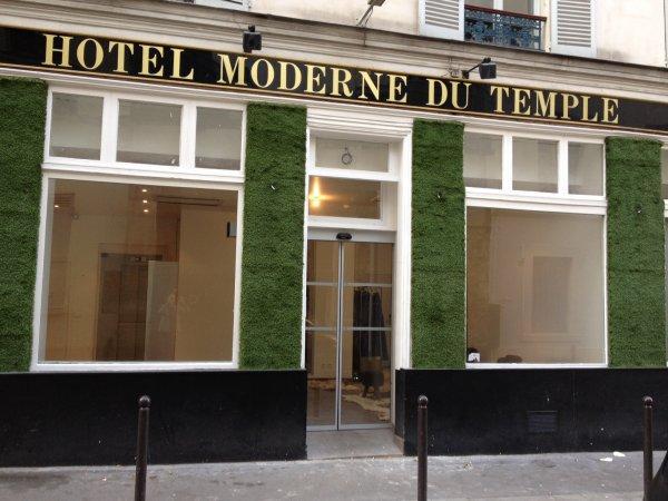 Hotel Moderne Du Temple