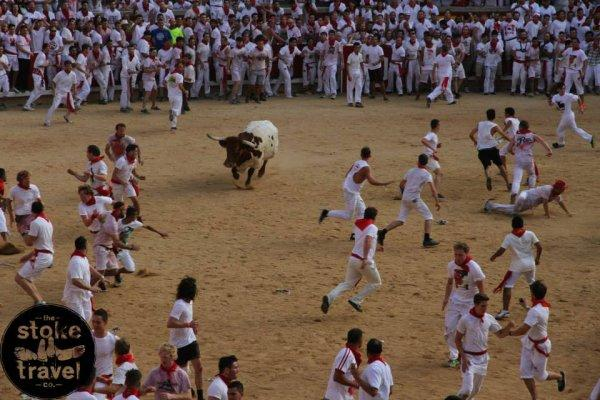 Running Of the Bulls All-Inclusive camping