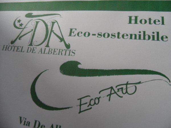 Hotel De Albertis Eco-Art