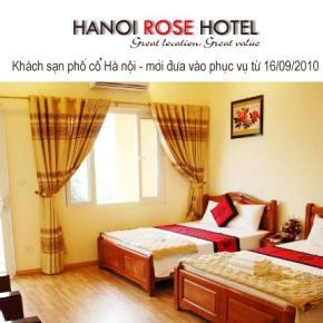 Auberges de jeunesse - Hanoi Rose Hotel