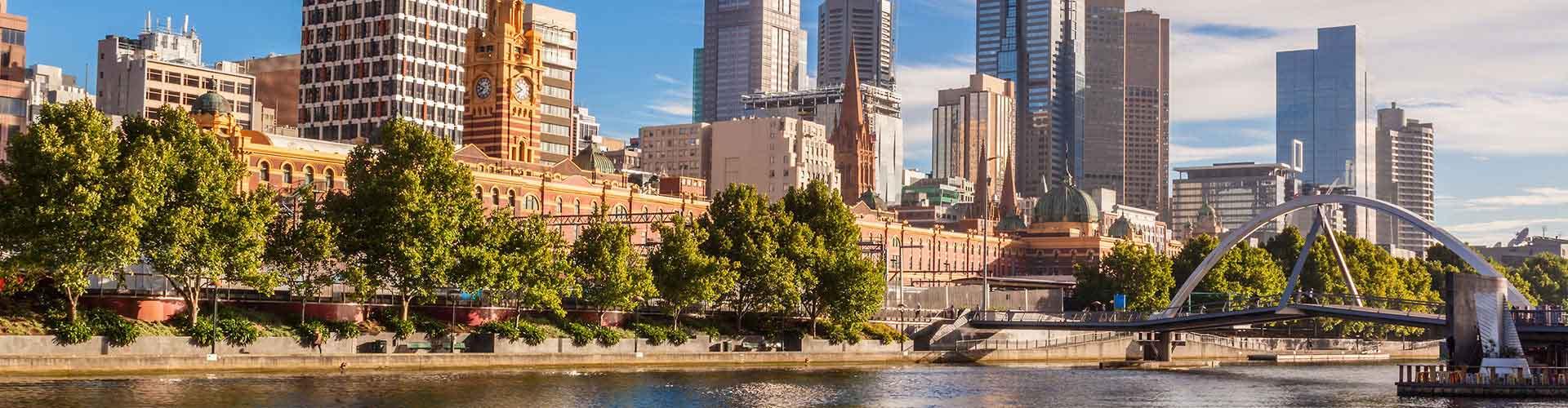 Melbourne - Auberges de jeunesse dans le quartier de Melbourne. Cartes pour Melbourne, photos et commentaires pour chaque auberge de jeunesse à Melbourne.