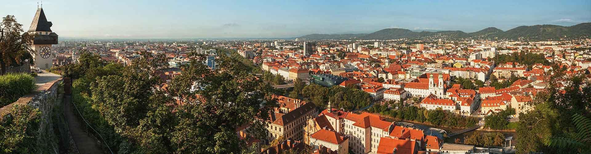 Graz - Hôtels à Graz. Cartes pour Graz, photos et commentaires pour chaque hôtel à Graz.