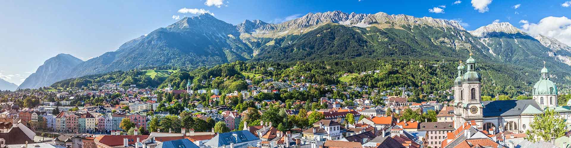 Innsbruck - Auberges de jeunesse à Innsbruck. Cartes pour Innsbruck, photos et commentaires pour chaque auberge de jeunesse à Innsbruck.