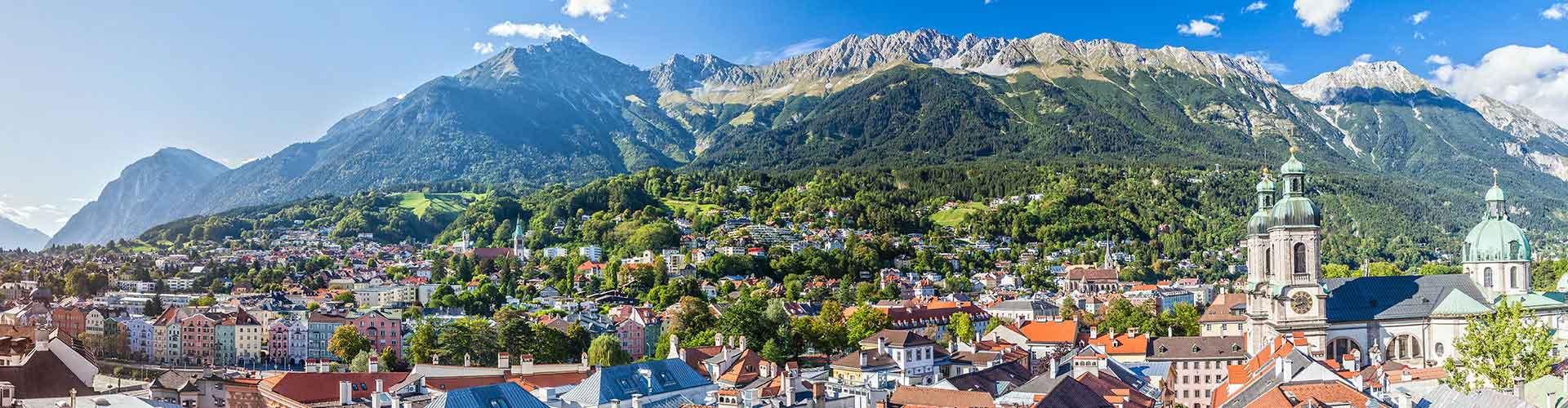 Innsbruck - Hôtels à Innsbruck. Cartes pour Innsbruck, photos et commentaires pour chaque hôtel à Innsbruck.
