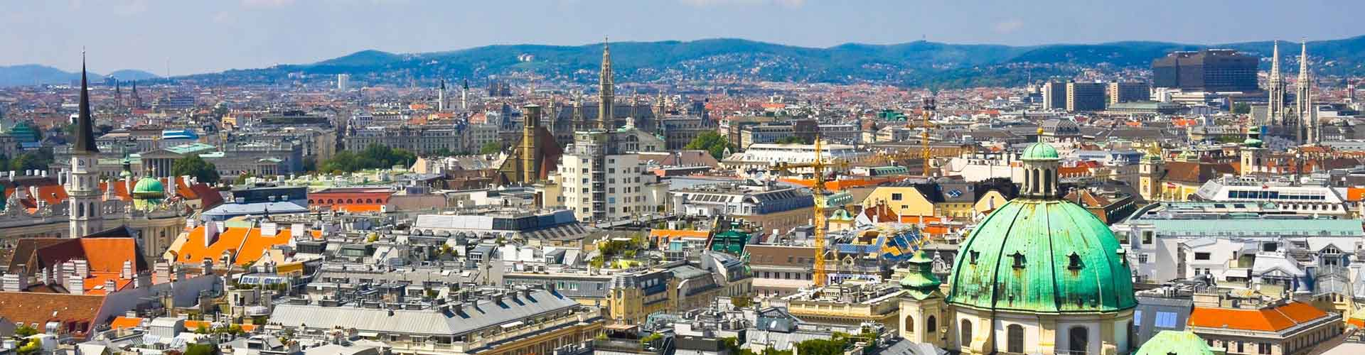 Vienne - Auberges de jeunesse près de Prater avec la Grande Roue. Cartes pour Vienne, photos et commentaires pour chaque auberge de jeunesse à Vienne.