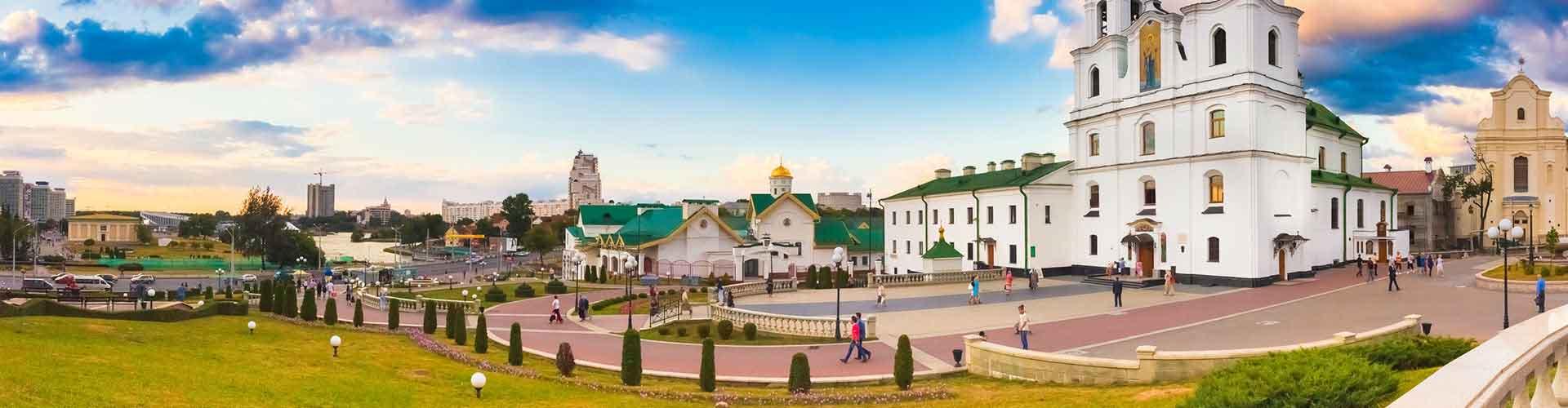 Minsk - Hôtels à Minsk. Cartes pour Minsk, photos et commentaires pour chaque hôtel à Minsk.