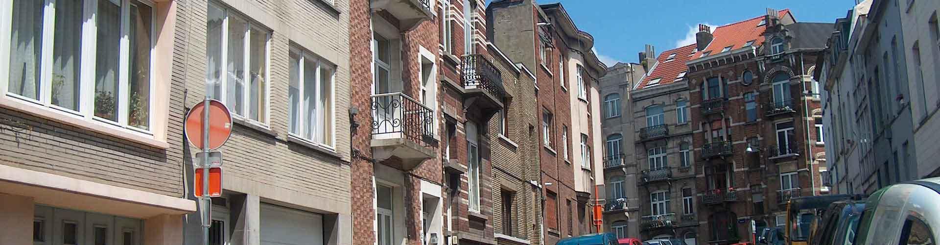 Bruxelles - Chambres pas chères dans le quartier de Saint-Josse-ten-Noode. Cartes pour Bruxelles, photos et commentaires pour chaque chambre à Bruxelles.