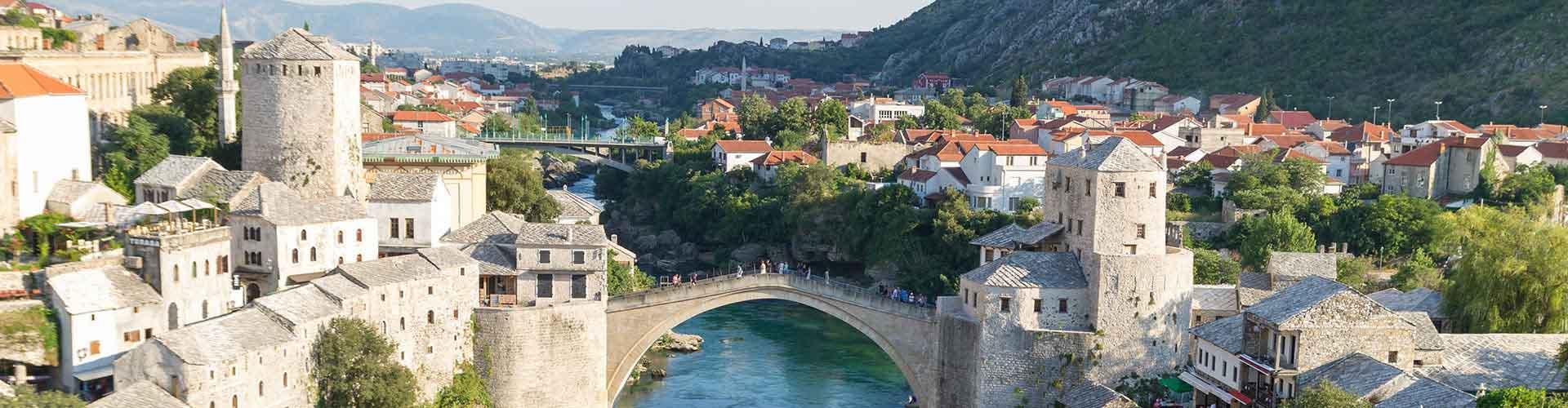 Mostar - Auberges de jeunesse à Mostar. Cartes pour Mostar, photos et commentaires pour chaque auberge de jeunesse à Mostar.