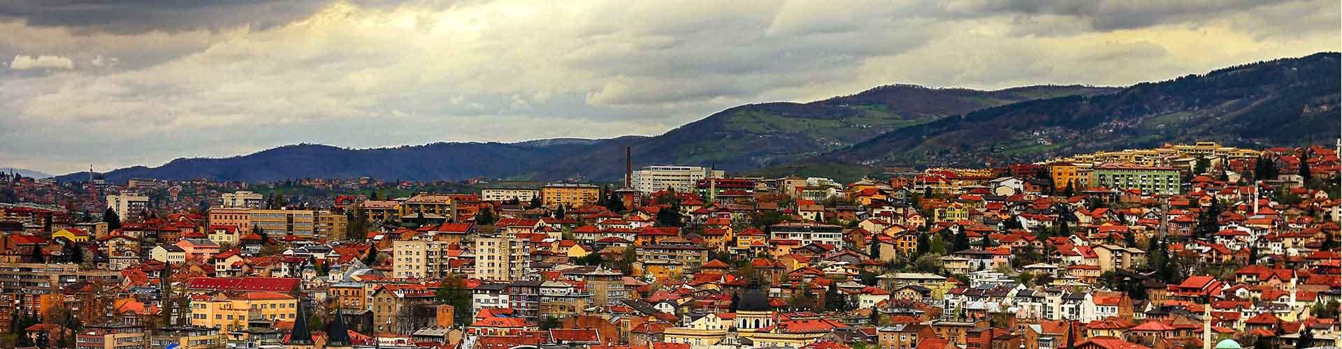 Sarajevo - Auberges de jeunesse à Sarajevo. Cartes pour Sarajevo, photos et commentaires pour chaque auberge de jeunesse à Sarajevo.