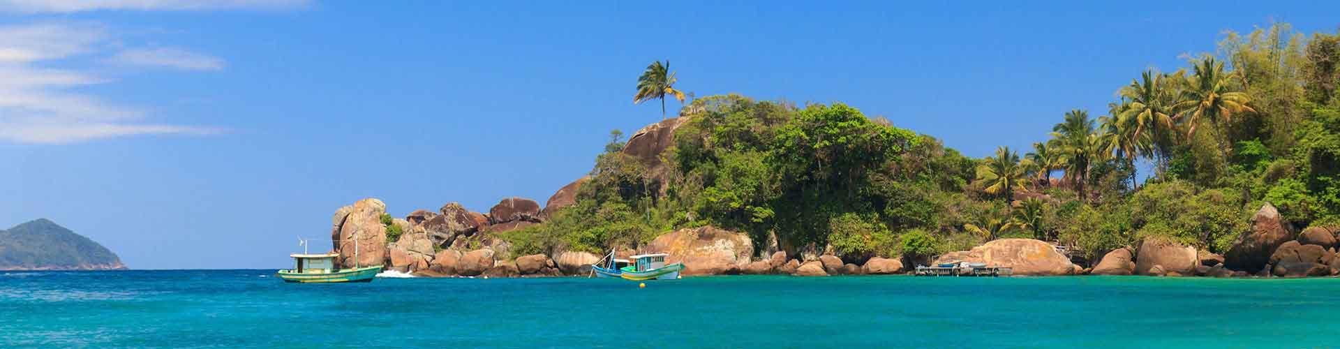 Ilha Grande - Chambres à Ilha Grande. Cartes pour Ilha Grande, photos et commentaires pour chaque chambre à Ilha Grande.