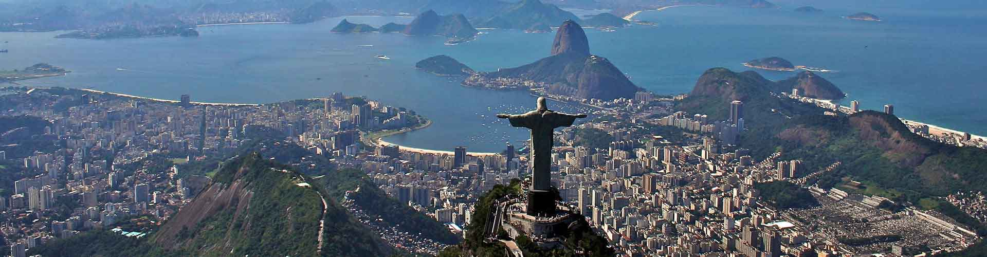 Rio de Janeiro - Hôtels dans le quartier de Copacabana. Cartes pour Rio de Janeiro, photos et commentaires pour chaque hôtel à Rio de Janeiro.