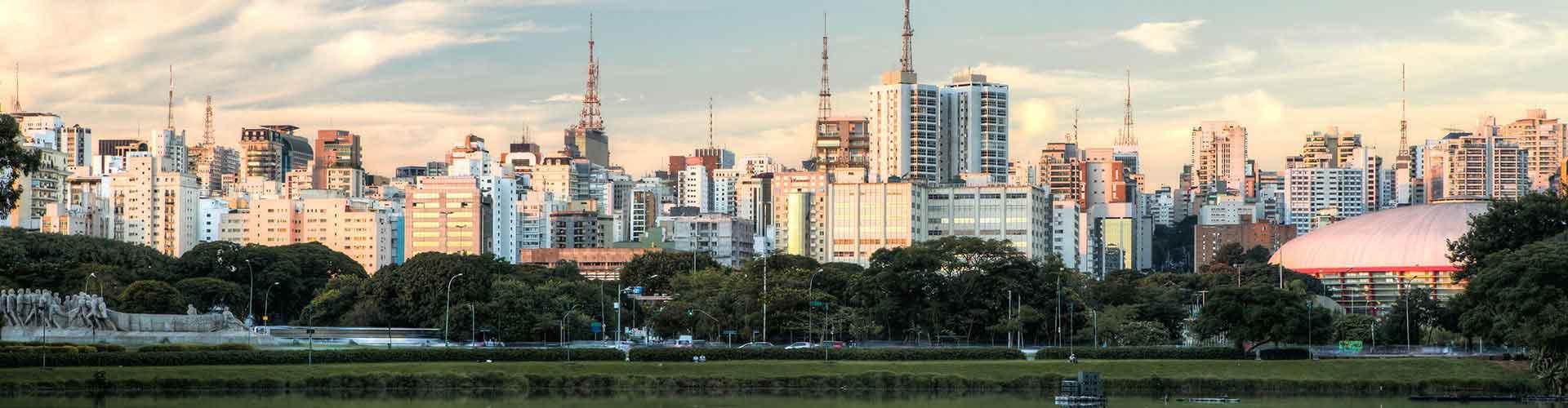 Sao Paulo - Auberges de jeunesse près de Aéroport Congonhas de São Paulo. Cartes pour Sao Paulo, photos et commentaires pour chaque auberge de jeunesse à Sao Paulo.