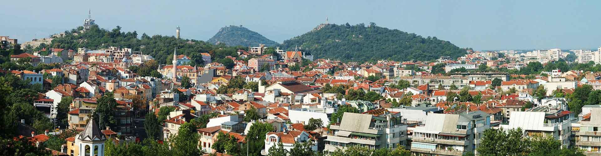Plovdiv - Appartements dans le quartier de Rayon Trakia. Cartes pour Plovdiv, photos et commentaires pour chaque appartement à Plovdiv.