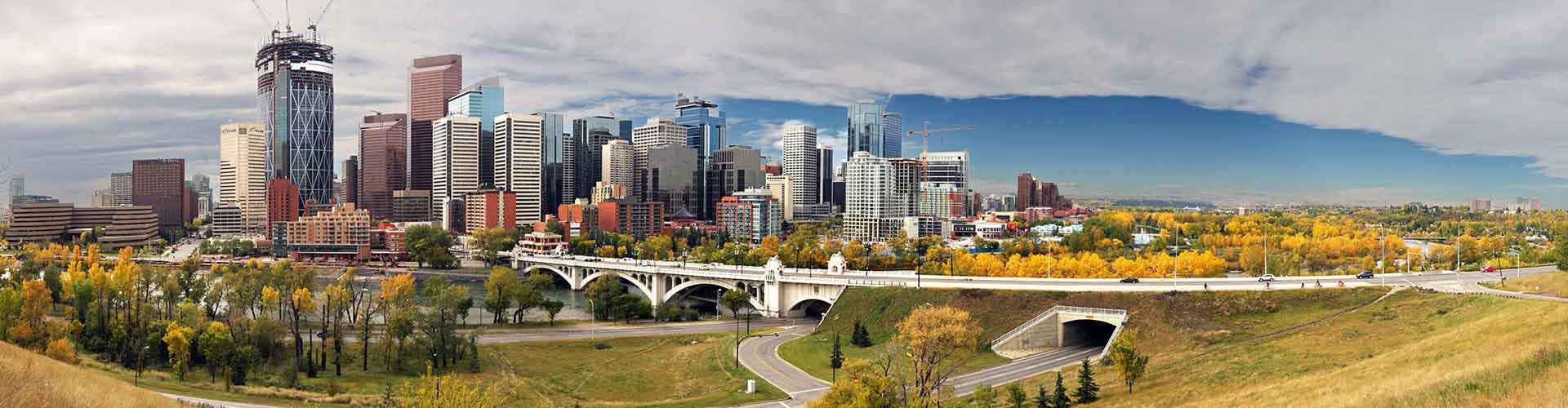 Calgary - Auberges de jeunesse dans le quartier de Stampede Park. Cartes pour Calgary, photos et commentaires pour chaque auberge de jeunesse à Calgary.