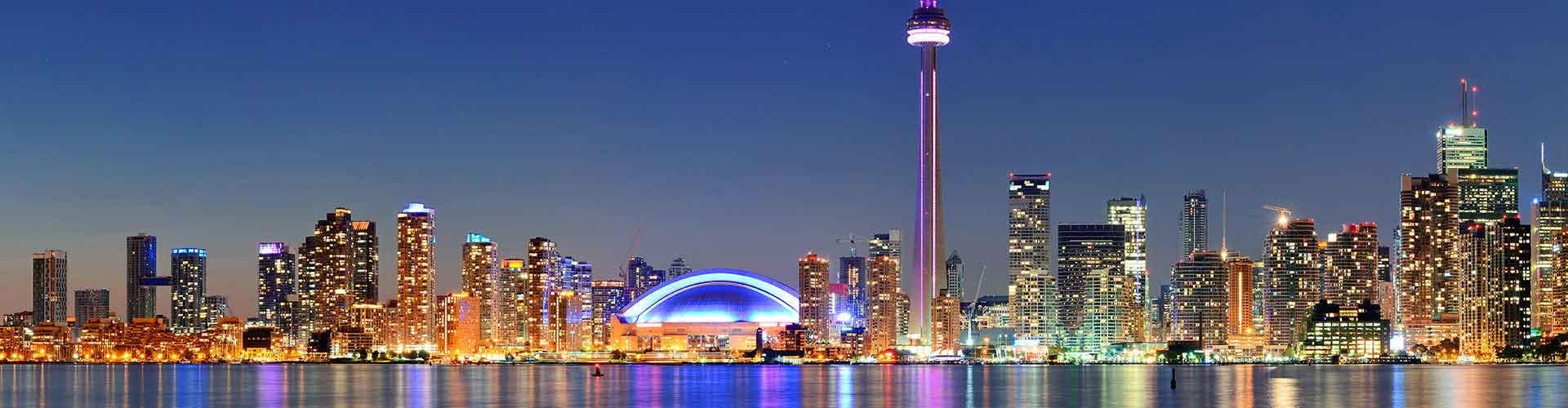 Toronto - Hôtels dans le quartier de The Danforth. Cartes pour Toronto, photos et commentaires pour chaque hôtel à Toronto.