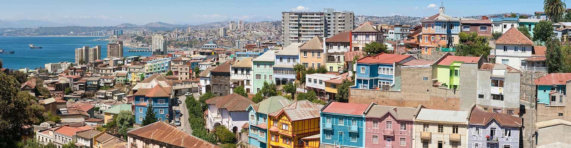 Valparaiso - Hôtels à Valparaiso. Cartes pour Valparaiso, photos et commentaires pour chaque hôtel à Valparaiso.