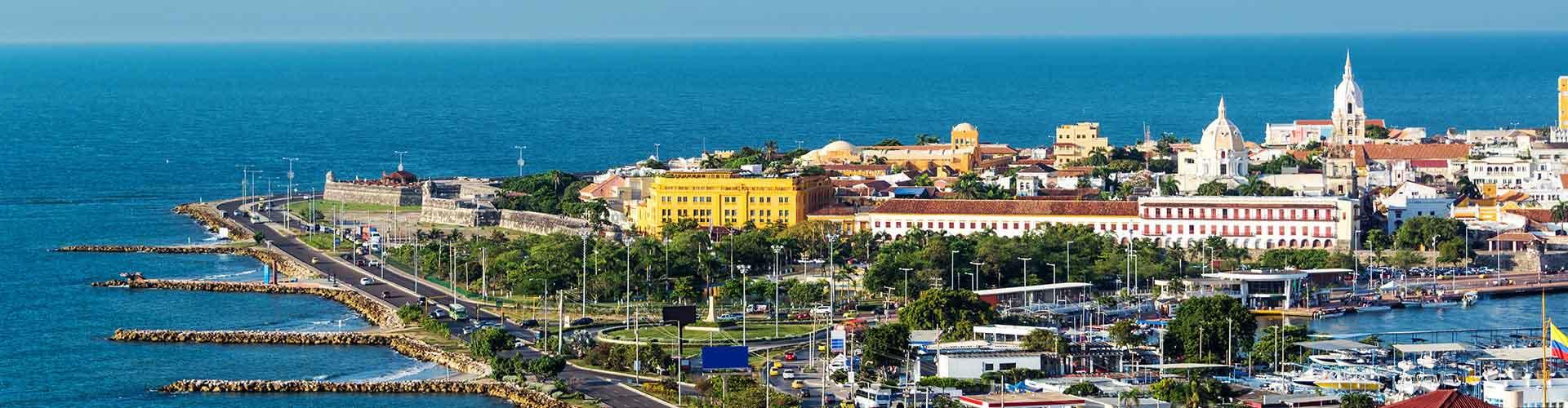 Cartagena - Hôtels à Cartagena. Cartes pour Cartagena, photos et commentaires pour chaque hôtel à Cartagena.