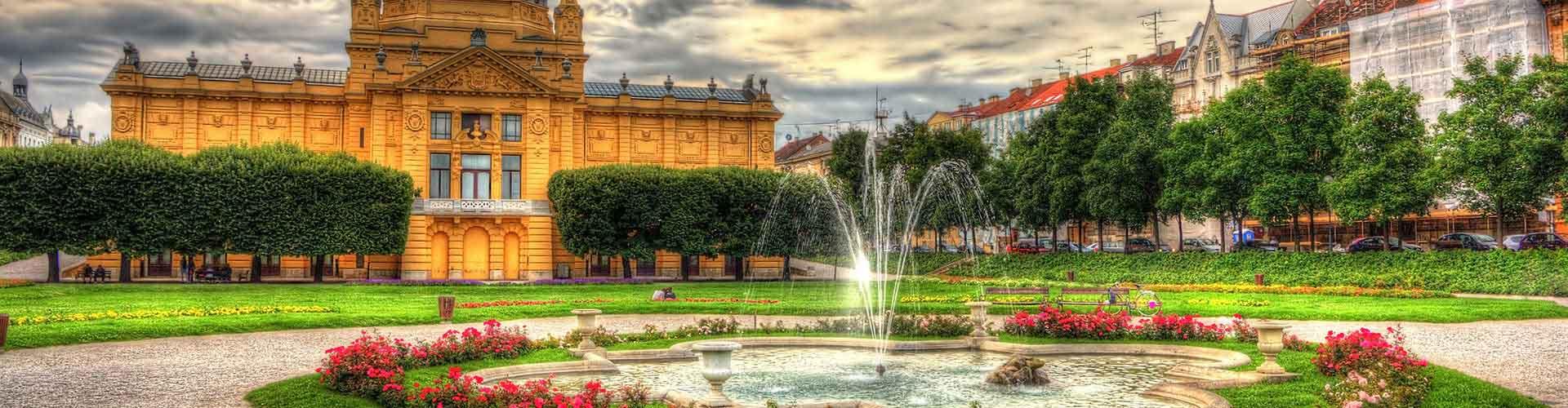 Zagreb - Chambres à Zagreb. Cartes pour Zagreb, photos et commentaires pour chaque chambre à Zagreb.
