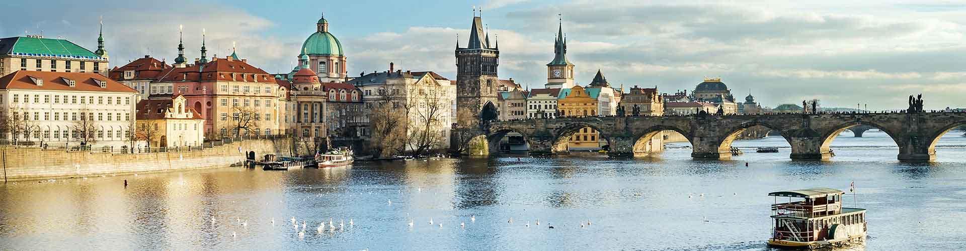 Prague - Auberges de jeunesse dans le quartier de Prague 1. Cartes pour Prague, photos et commentaires pour chaque auberge de jeunesse à Prague.