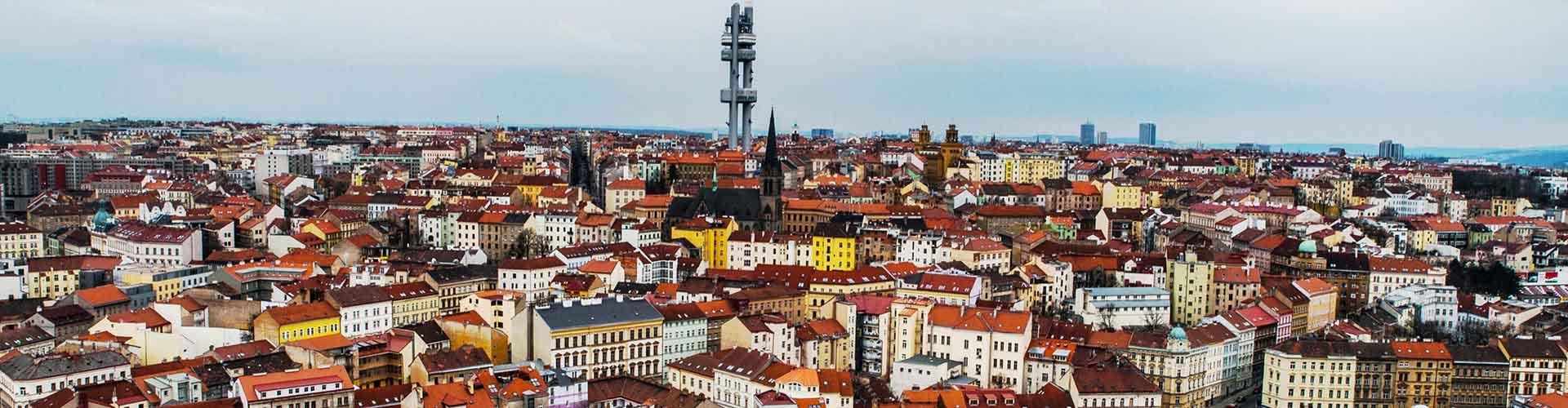 Prague - Appartements dans le quartier de Zizkov. Cartes pour Prague, photos et commentaires pour chaque appartement à Prague.