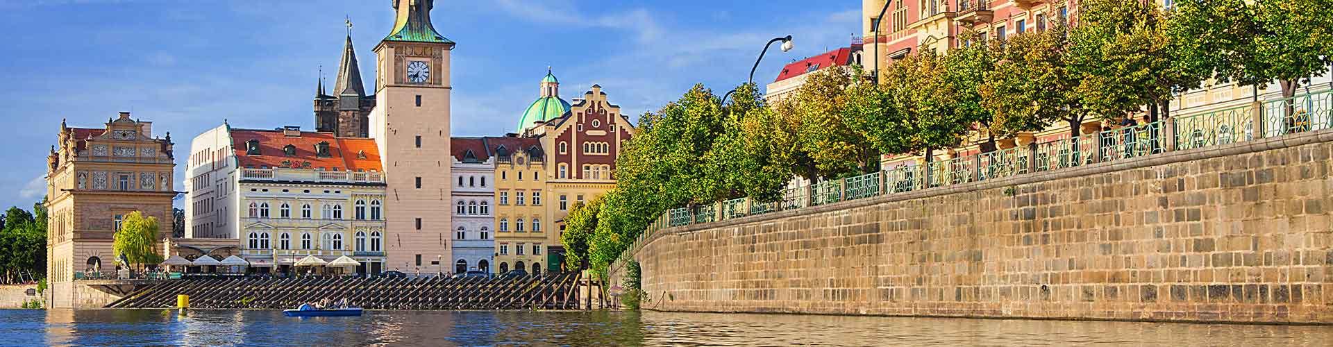 Prague - Camping près de Musée Bedřich Smetana. Cartes pour Prague, photos et commentaires pour chaque camping à Prague.