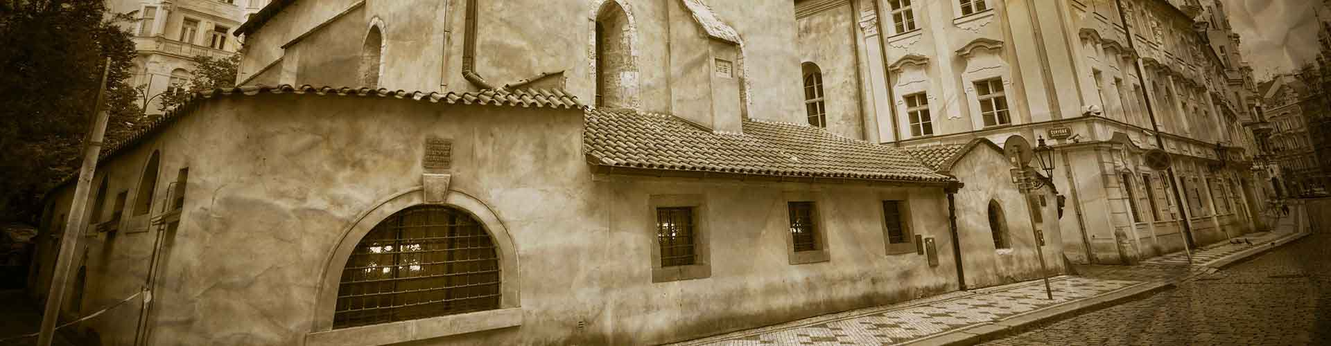 Prague - Auberges de jeunesse près de Hôtel de ville juif. Cartes pour Prague, photos et commentaires pour chaque auberge de jeunesse à Prague.