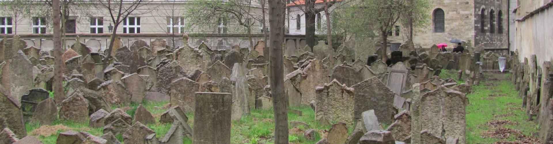 Prague - Auberges de jeunesse près de Ancien cimetière juif. Cartes pour Prague, photos et commentaires pour chaque auberge de jeunesse à Prague.