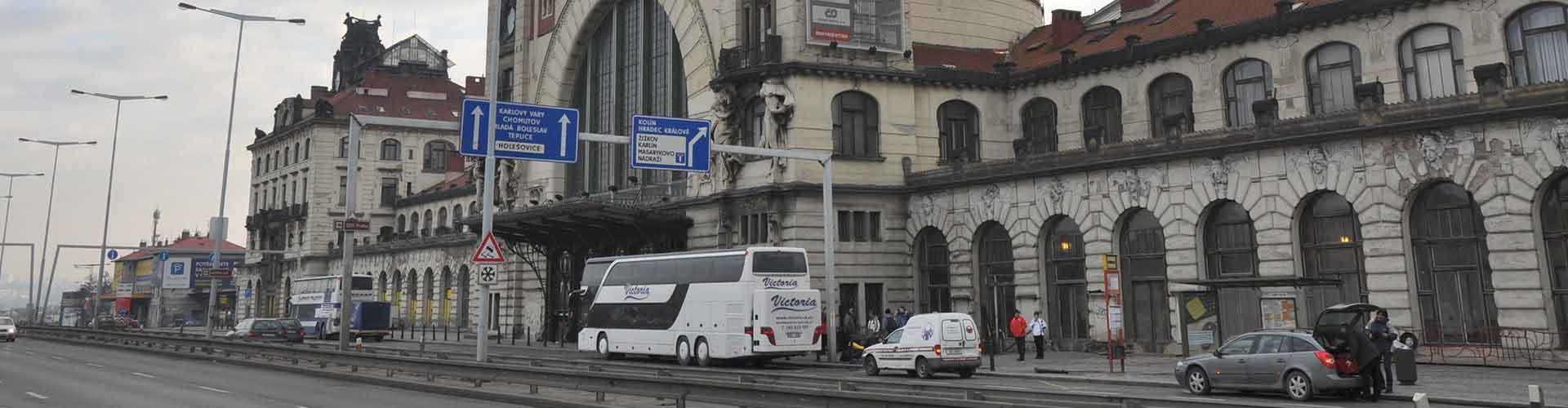 Prague - Hôtels près de Gare de Prague Hlavní . Cartes pour Prague, photos et commentaires pour chaque Hôtel à Prague.