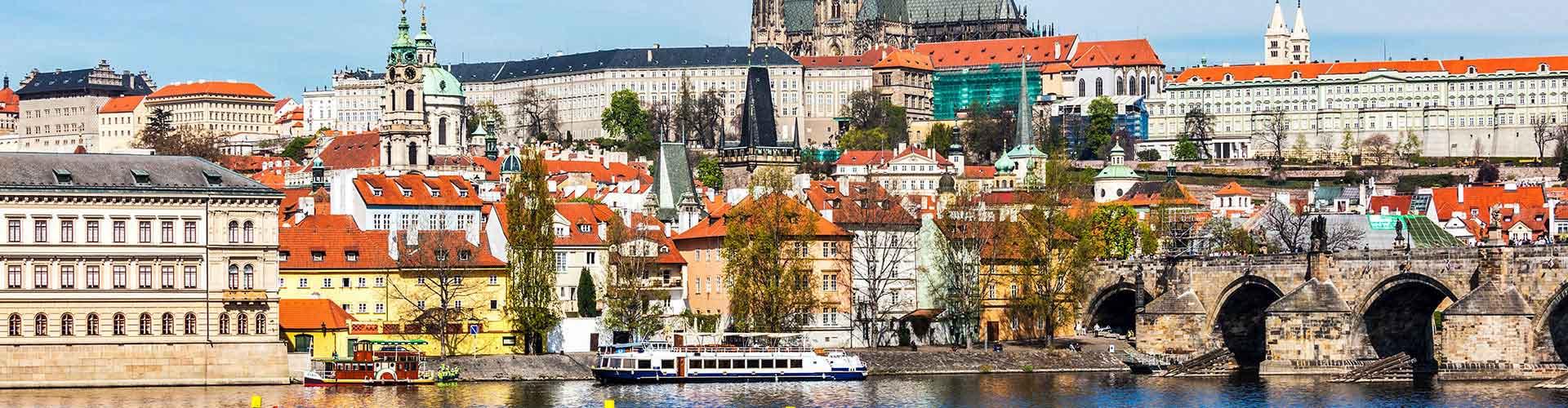 Prague - Camping près de Cathédrale Saint-Vitus. Cartes pour Prague, photos et commentaires pour chaque camping à Prague.