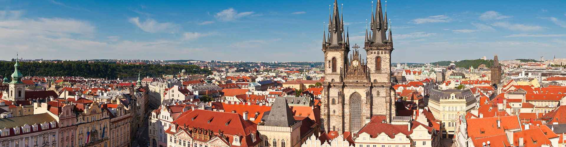 Prague - Chambres près de Église Týn. Cartes pour Prague, photos et commentaires pour chaque chambre à Prague.