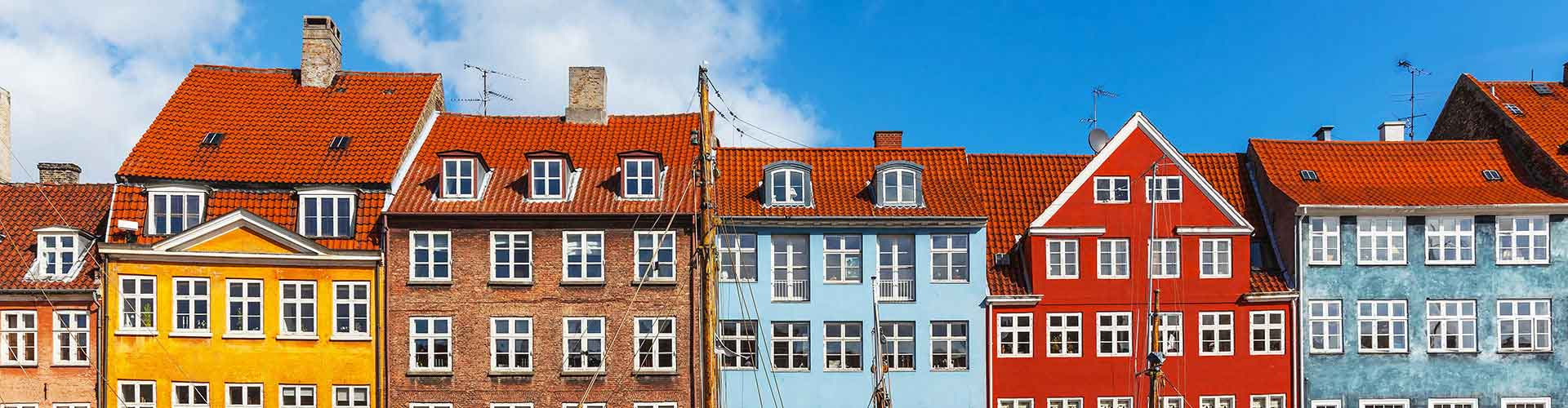 Copenhague - Appartements dans le quartier de Nørreport. Cartes pour Copenhague, photos et commentaires pour chaque appartement à Copenhague.