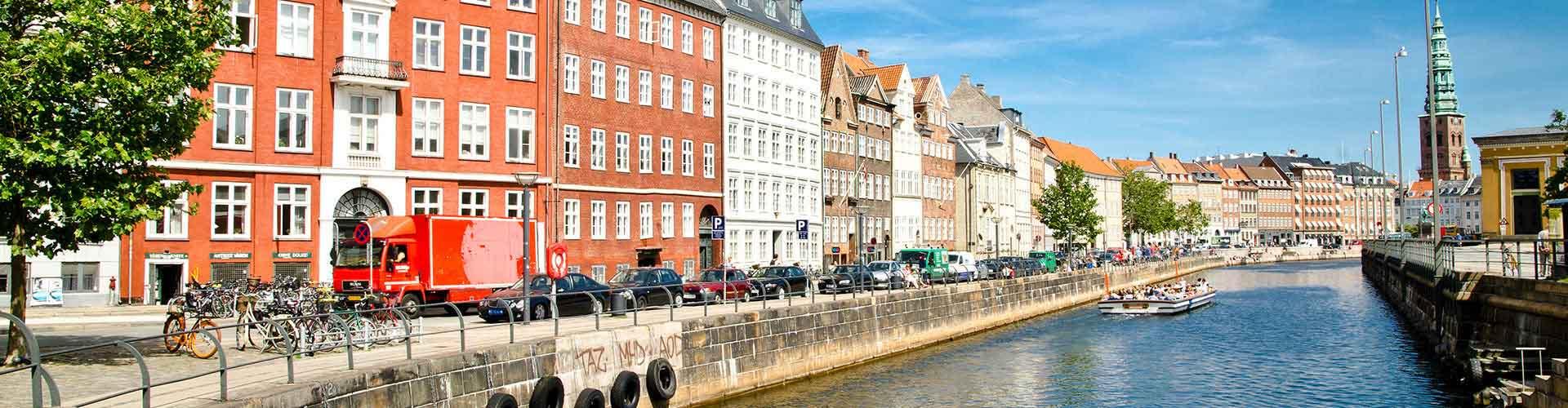 Copenhague - Chambres pas chères dans le quartier de Indre By. Cartes pour Copenhague, photos et commentaires pour chaque chambre à Copenhague.