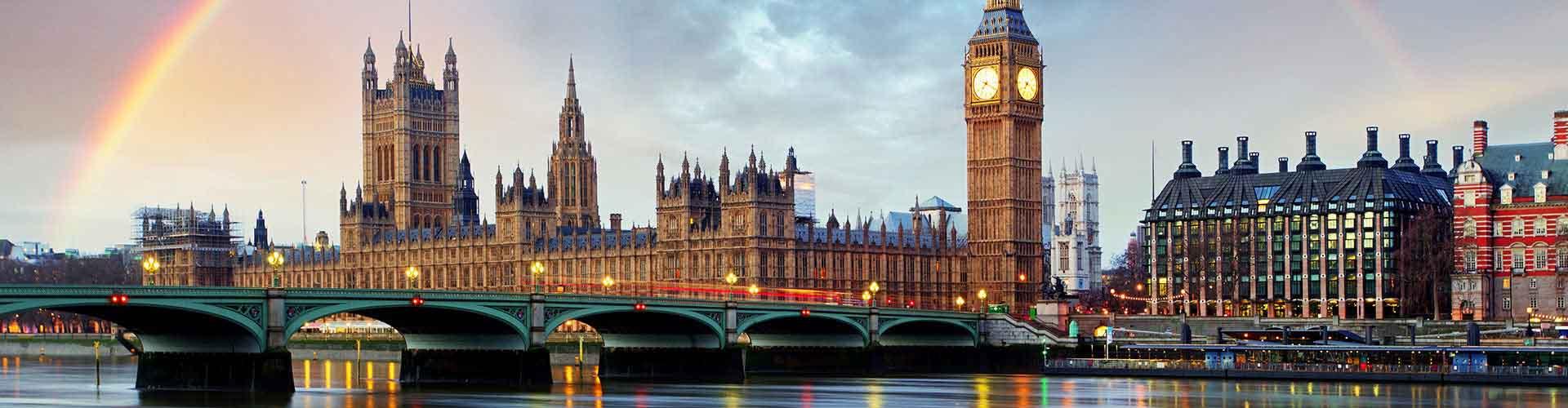Londres - Auberges de jeunesse dans le quartier de Arrondissement de Westminster. Cartes pour Londres, photos et commentaires pour chaque auberge de jeunesse à Londres.