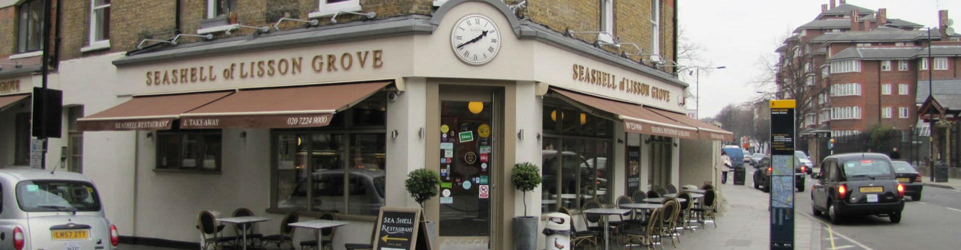 Londres - Hôtels dans le quartier de Lisson Grove. Cartes pour Londres, photos et commentaires pour chaque hôtel à Londres.