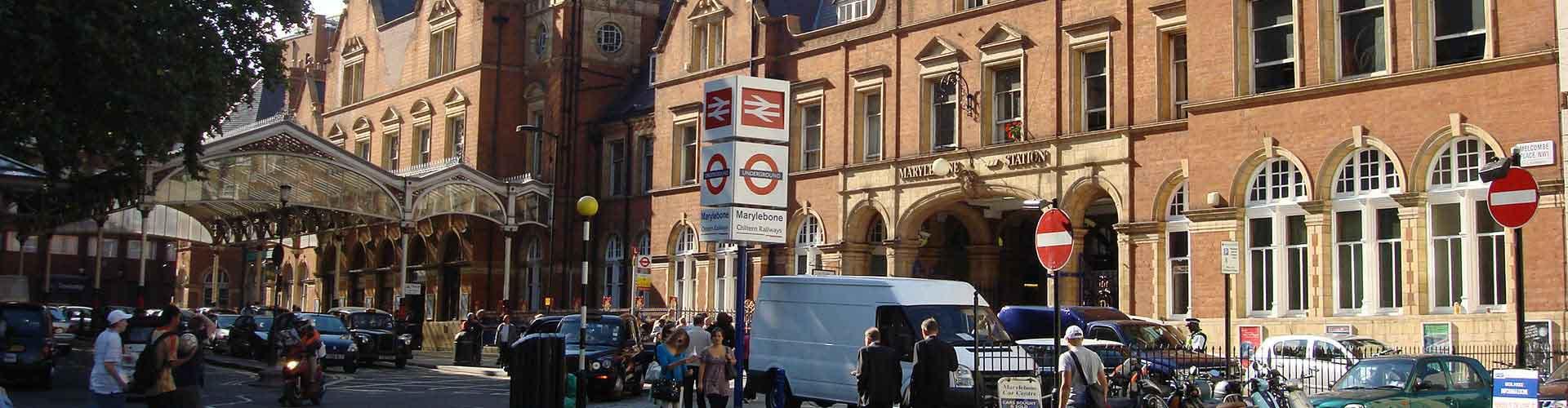 Londres - Auberges de jeunesse et Chambres pas chères dans le quartier de Marylebone. Cartes de Londres, photos et commentaires pour chaque Auberge de jeunesse et Chambre pas chère à Londres.