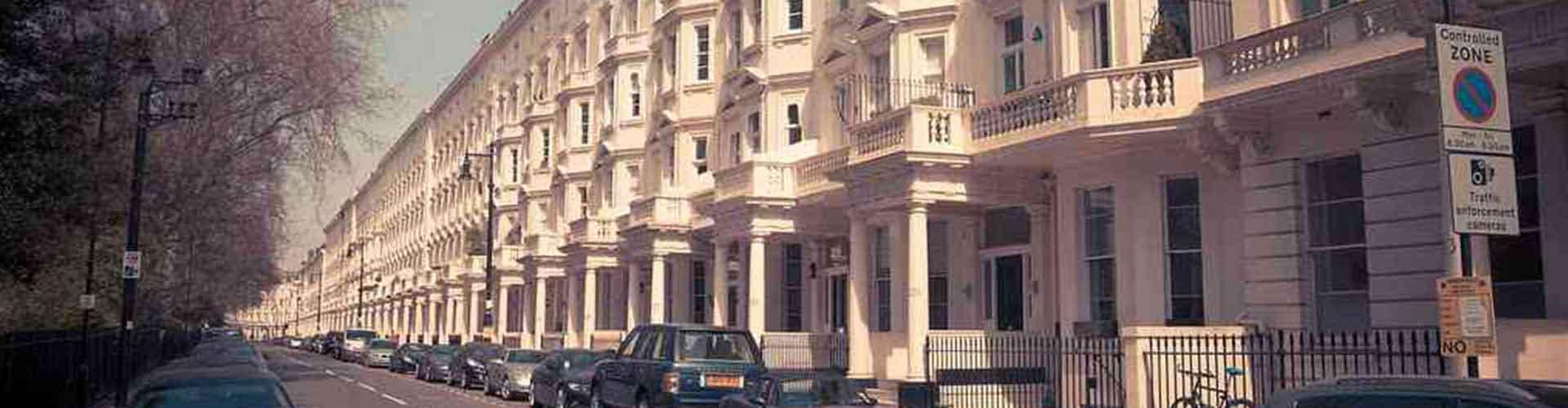 Londres - Auberges de jeunesse dans le quartier de Pimlico. Cartes pour Londres, photos et commentaires pour chaque auberge de jeunesse à Londres.