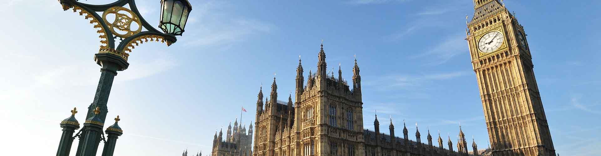 Londres - Hôtels près de Big Ben. Cartes pour Londres, photos et commentaires pour chaque Hôtel à Londres.