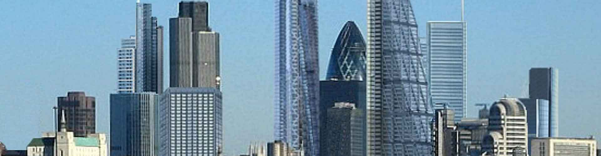 Londres - Appartements près de Bishopsgate Tower. Cartes pour Londres, photos et commentaires pour chaque appartement à Londres.