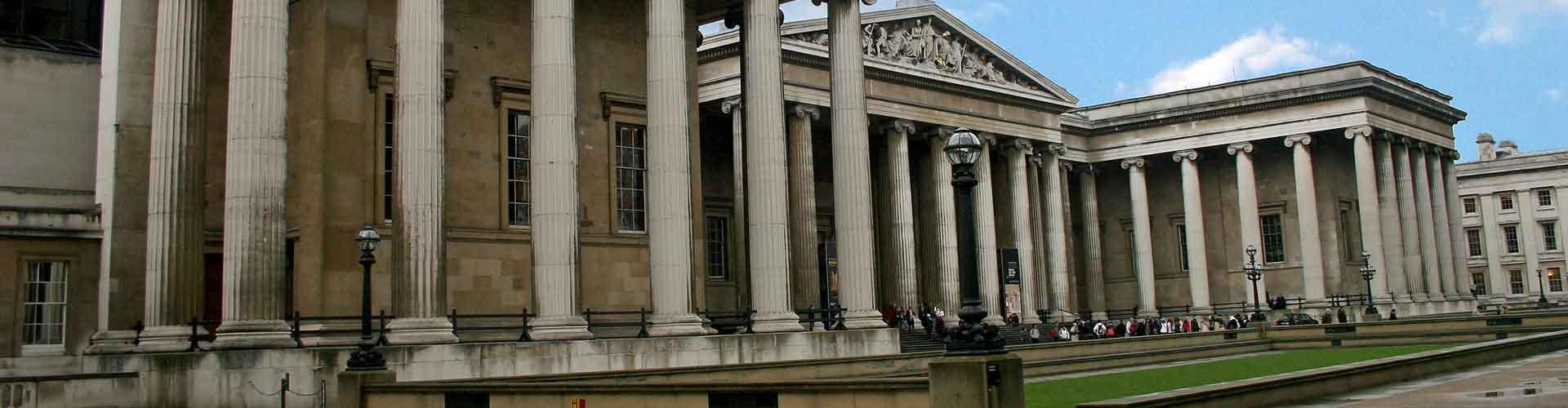 Londres - Chambres près de British Museum. Cartes pour Londres, photos et commentaires pour chaque chambre à Londres.