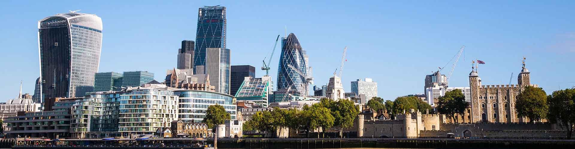 Londres - Chambres près de City Center. Cartes pour Londres, photos et commentaires pour chaque chambre à Londres.