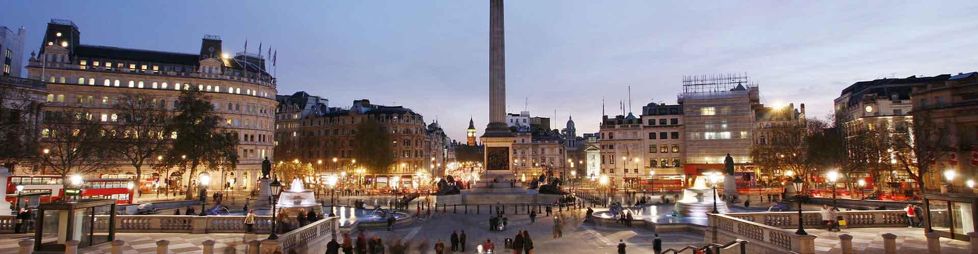 Londres - Chambres près de Nelson's Column. Cartes pour Londres, photos et commentaires pour chaque chambre à Londres.