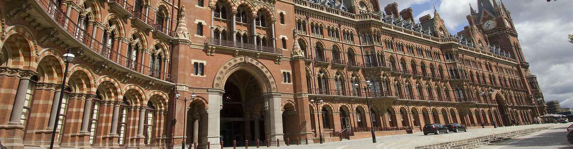 Londres - Hôtels près de Gare de St Pancras. Cartes pour Londres, photos et commentaires pour chaque Hôtel à Londres.