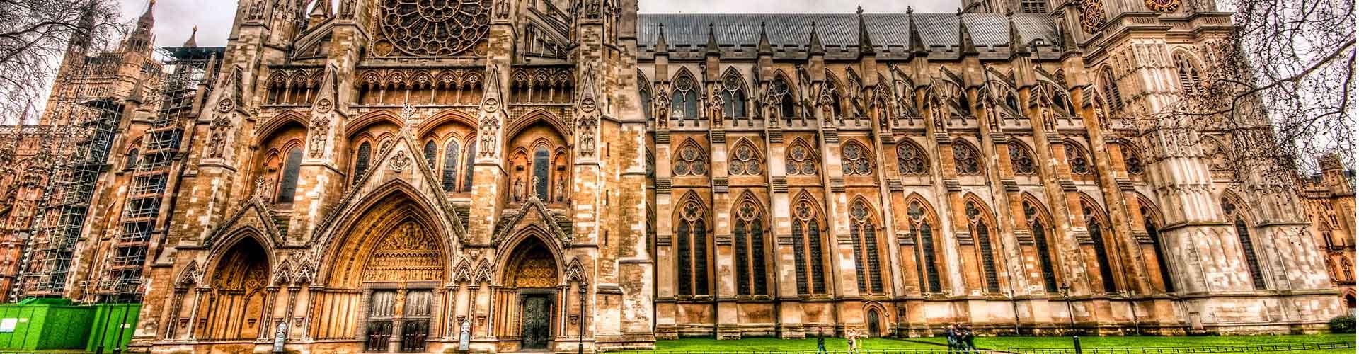Londres - Auberges de jeunesse près de Westminster Abbey. Cartes pour Londres, photos et commentaires pour chaque auberge de jeunesse à Londres.