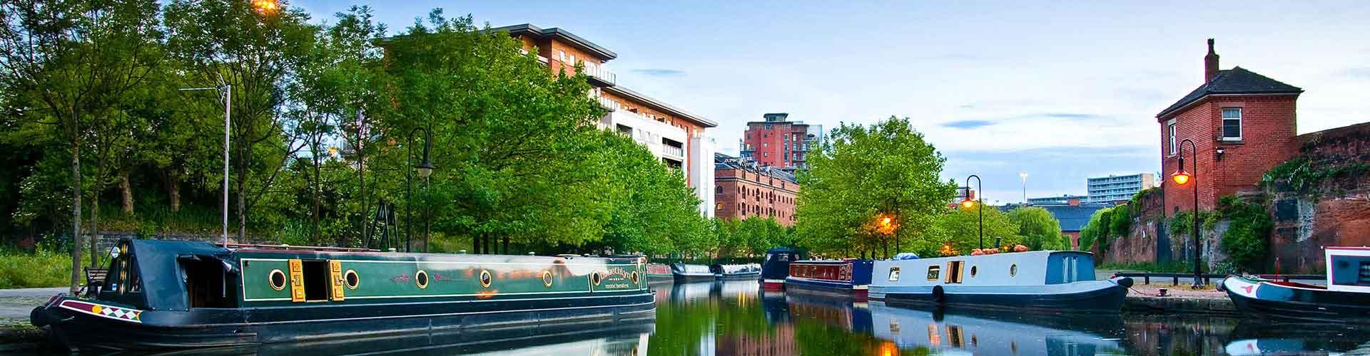 Manchester - Auberges de jeunesse dans le quartier de Centre-ville. Cartes pour Manchester, photos et commentaires pour chaque auberge de jeunesse à Manchester.