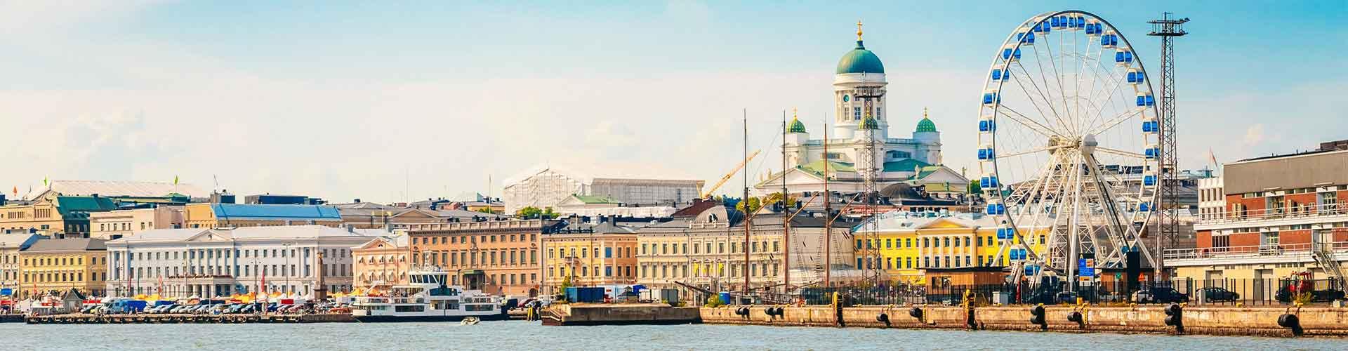 Helsinki - Appartements près de Helsinki Central railway station. Cartes pour Helsinki, photos et commentaires pour chaque appartement à Helsinki.